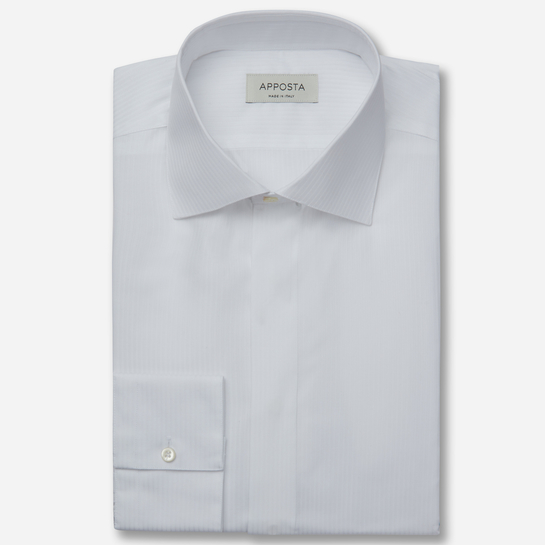 shirt 100% pure cotton plain  designs  white, collar style  semi-spread collar
