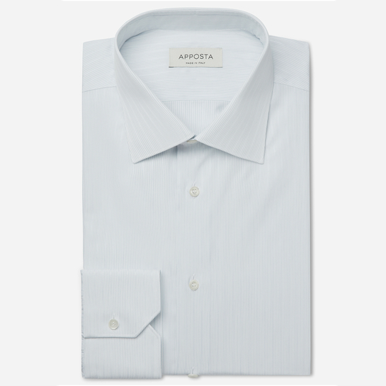 shirt , collar style  low straight point collar